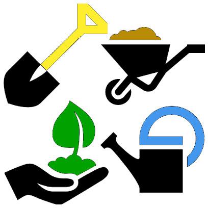Logo des travaux du jardin